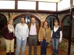 Valentín Bueno visita AFAEM Villarrobledo